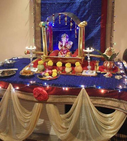 Ganpati Decoration Ideas Ganesh Pooja Ganpati Decoration At