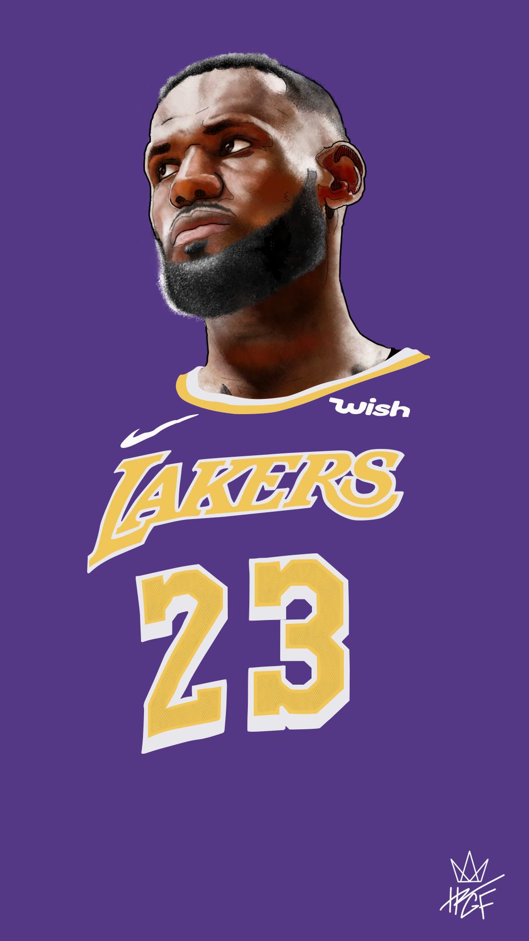 Lebron James Digital Illustration Purple Lebron James Background Lebron James Lakers Lebron James
