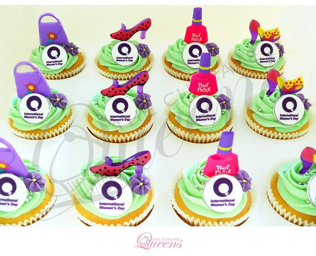 International Womens Day Cupcakes