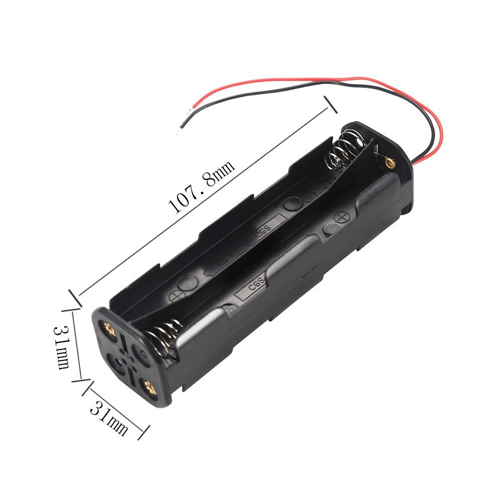 2pcs Diy 12v 4slot 8 X Aa Battery Holder Series Connection With Leads You Can Get More Details By Clicking On T Diy Gadgets Battery Holder Creative Gadgets