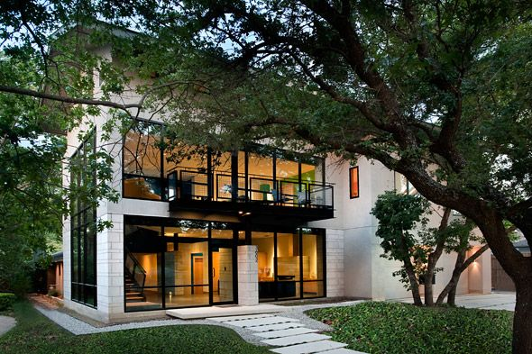 Modern style homes in dallas