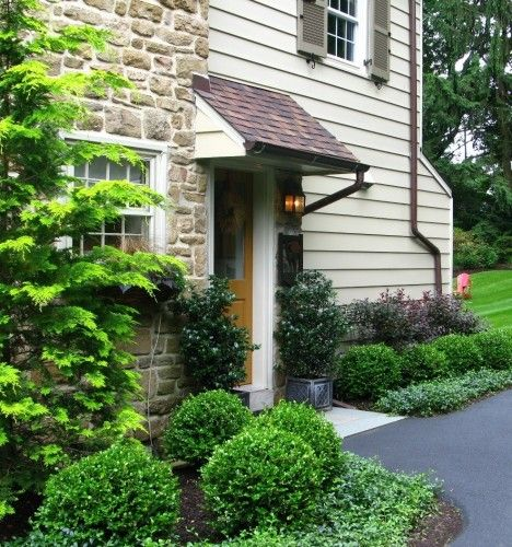 Evergreen Foundation Plantings GARDEN Pinterest Jardines - paisajes jardines