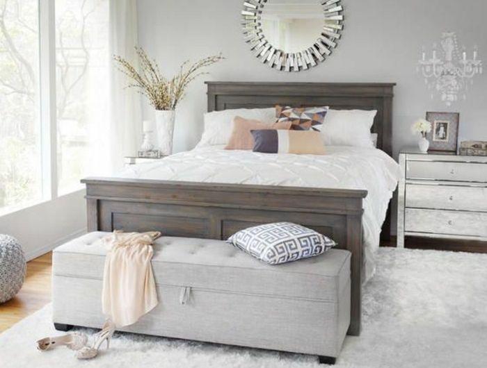 40 Idees Pour Le Bout De Lit Coffre En Images Bout De Lit Chambre A Coucher Ikea Lit Coffre