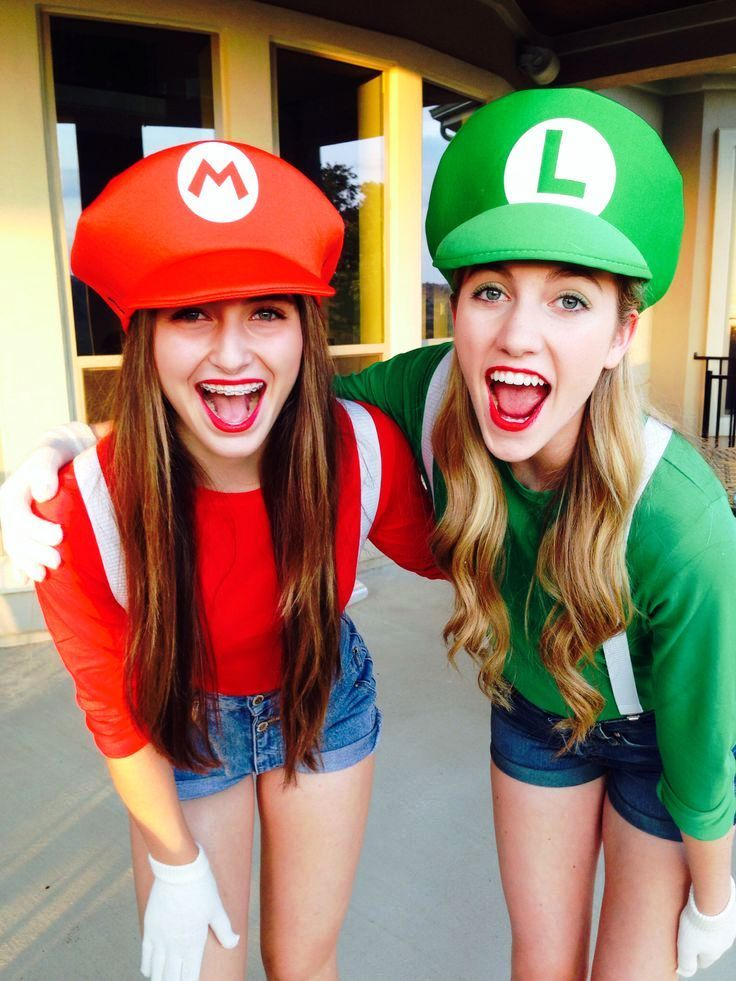 Best Friend Halloween Costumes Ideas  sc 1 st  Pinterest & 20 Best Friend Halloween Costumes That Are Totally Adorable ...