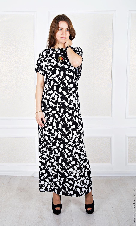 0ef7b3d286ca6b7 Купить Платье из трикотажа летнее - платье, платье трикотажное, платье  трикотаж, платье свободное