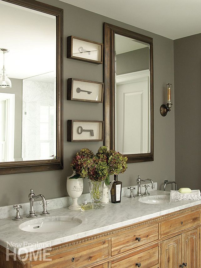 Bathroom Ideas Colours: Bathroom Design. Transitional Bathroom Ideas. Anne-Laure