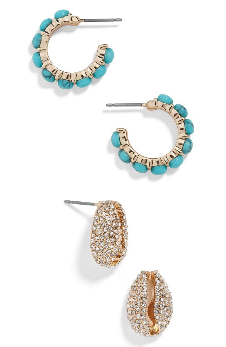 Baublebar Grenada Set Of 2 Earrings With Images Earrings