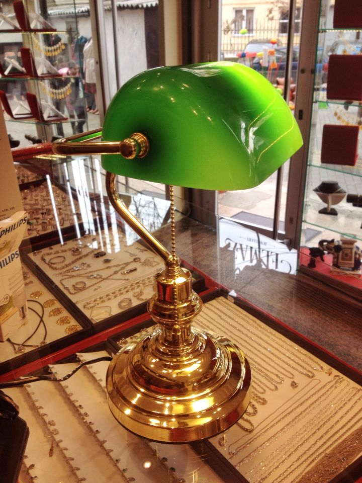 Bankers Lamp Finally In My Hand Lawyer Studio Lamp Bankers Lamp Novelty Lamp