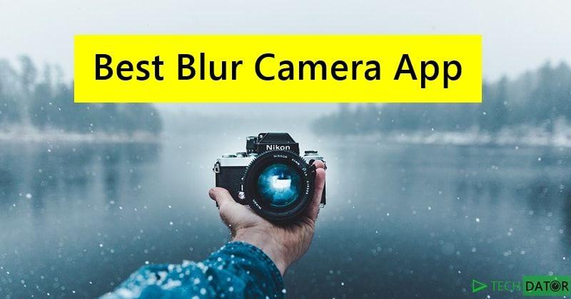 blur photo app free