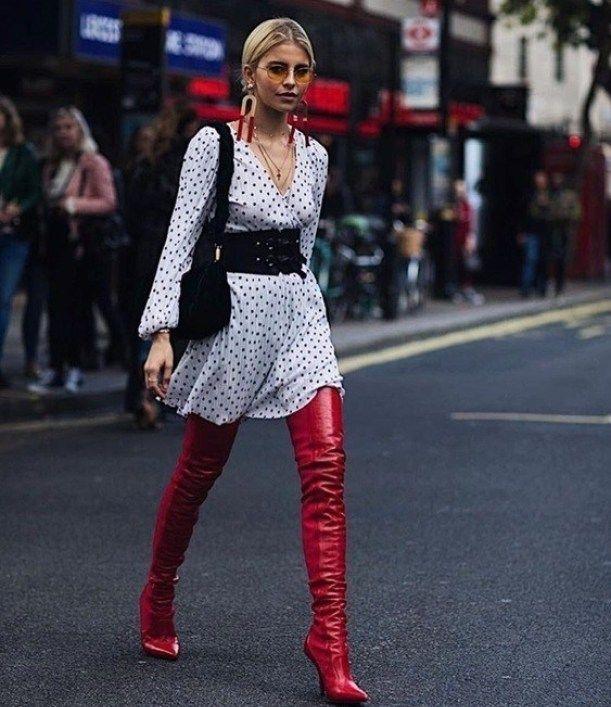 Photo of Schöne Damenmode mit gepunkteten Motiven – Mode Und Outfit Trends
