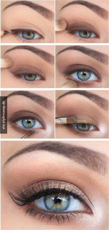 Perfektes Alltags Make Up Makeup Pinterest Makeup Eye Makeup