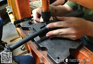 Pin On Tactical The base (die), the ram (punch), and the bracket to hold the flat in place. pinterest