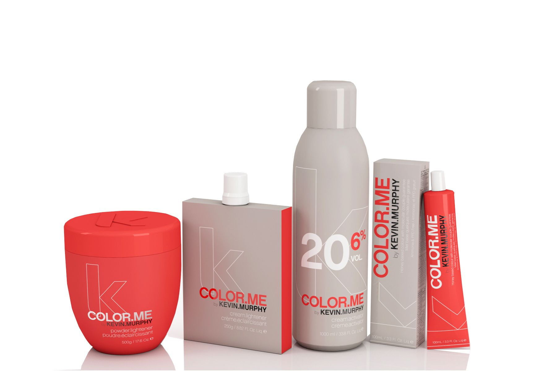 COLOR.ME by KEVIN.MURPHY Collection.