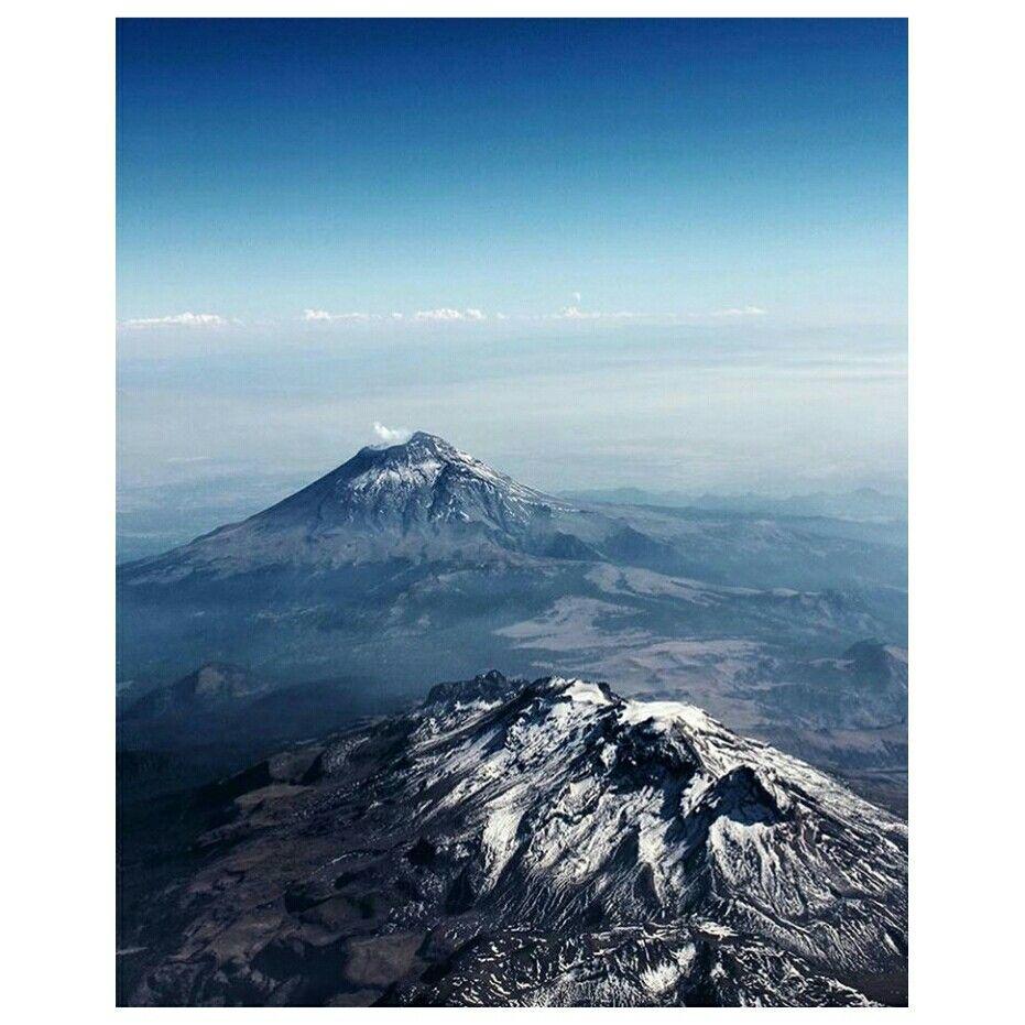 Popocatépetle Iztaccíhuatl