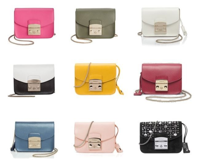5d7693be37 Furla Metropolis collection (set created on Polyvore)