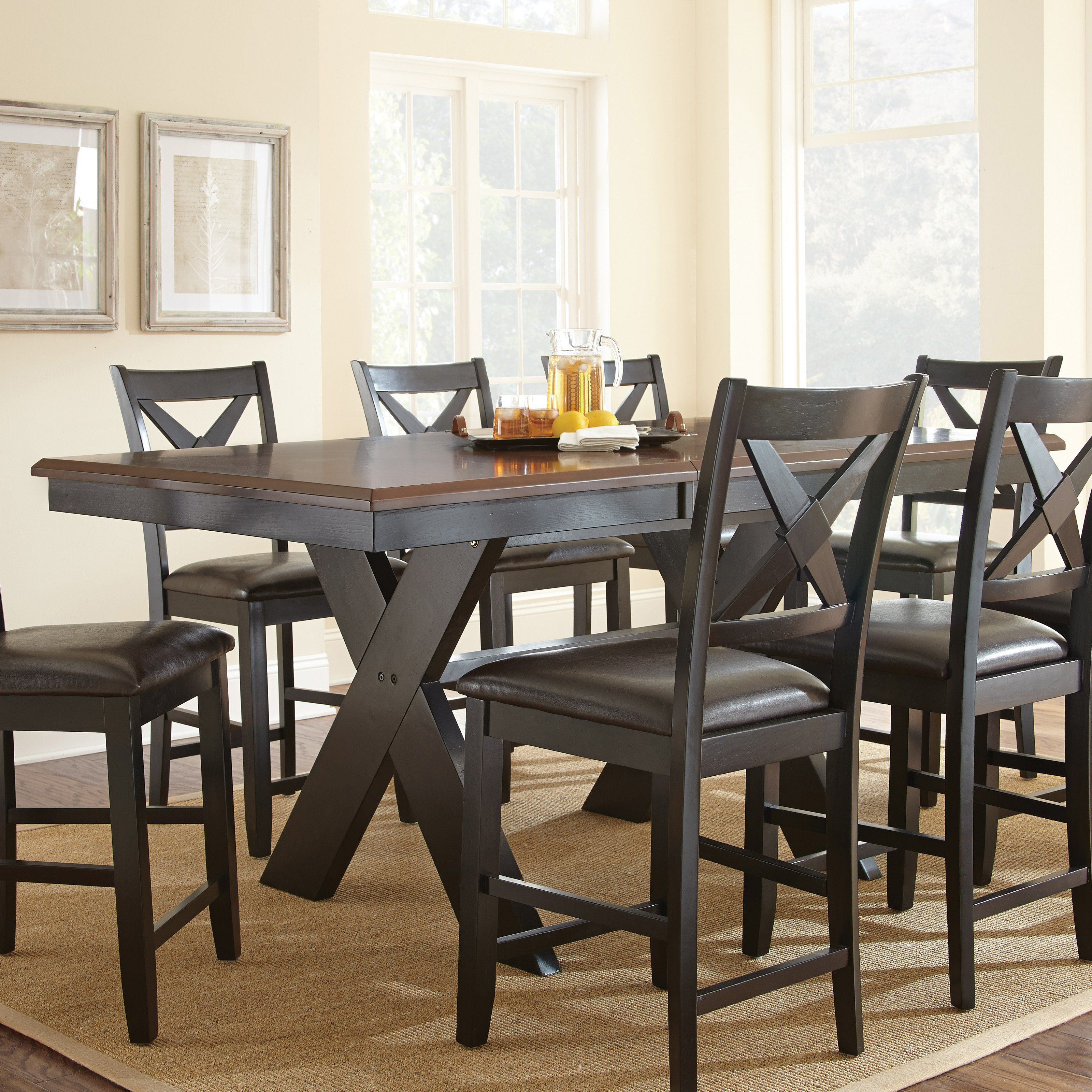 Steve Silver Violante Counter Height Dining Table From Hayneedle