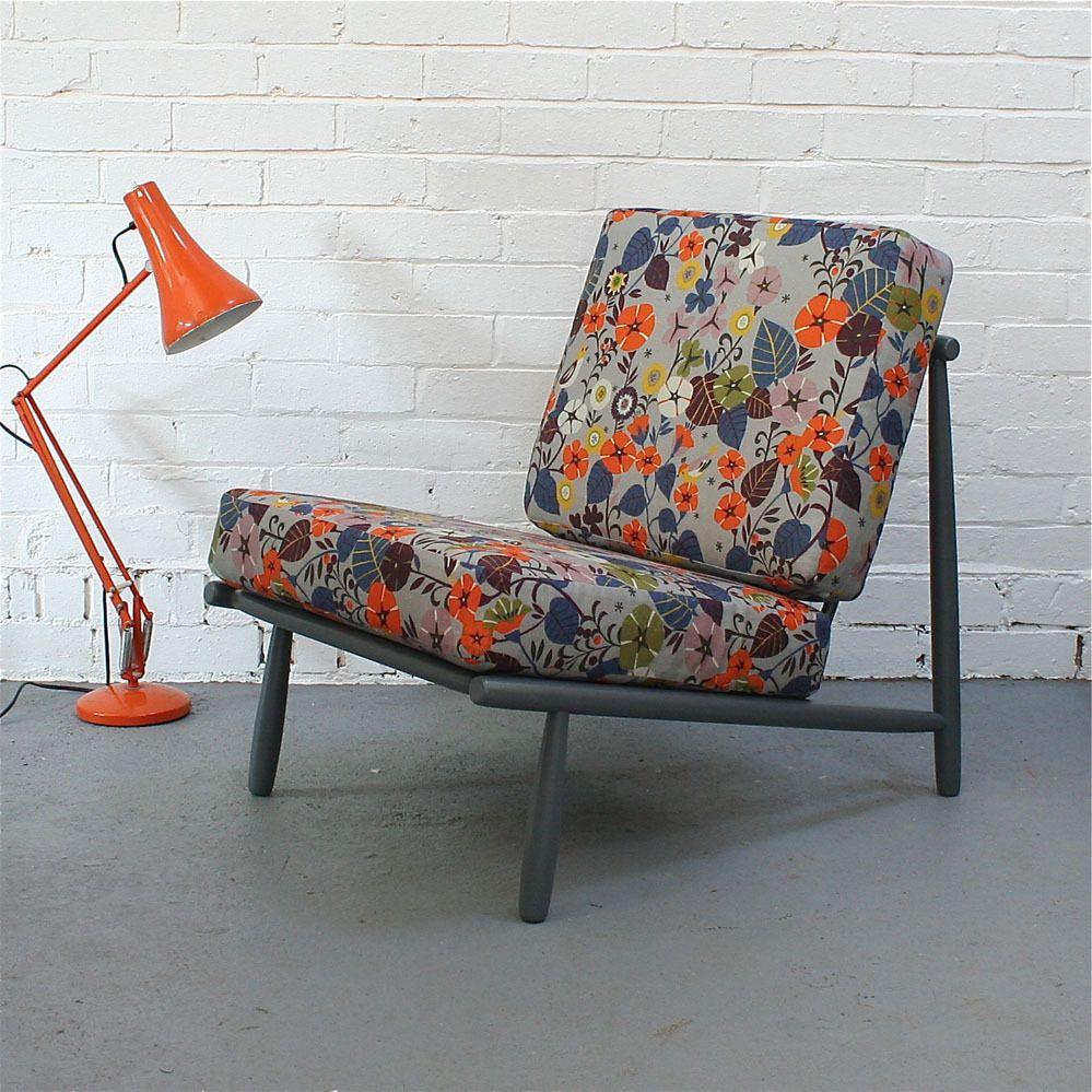 Image of Vintage \u0027Domus 1\u0027 Lounge Chair in Nasturtium - SOLD ...