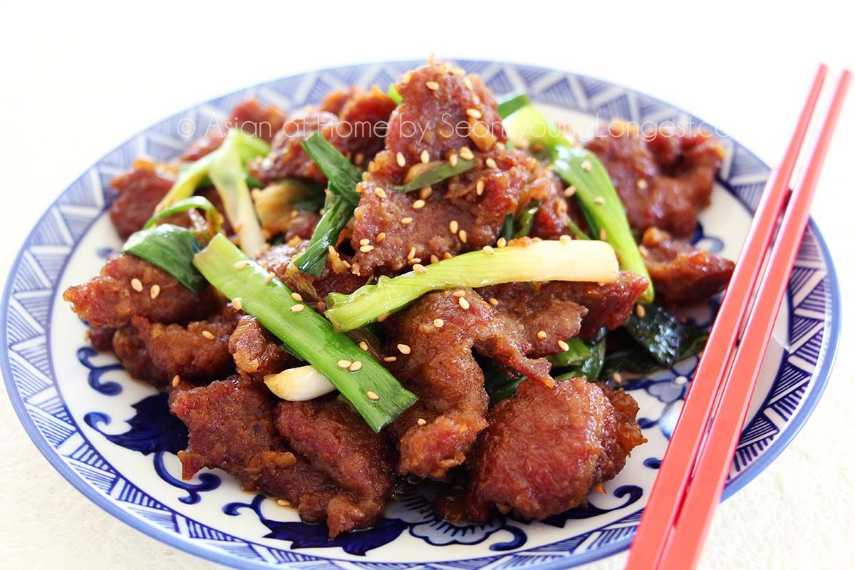 Mongolian Beef Recipe With Images Beef Recipes Mongolian