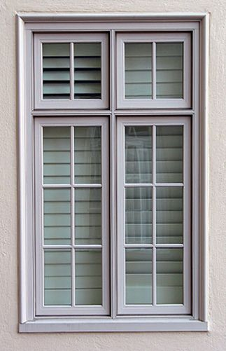 119 CASEMENT WINDOWS WITH FIXED TRANSOMS EXTERIOR VIEW