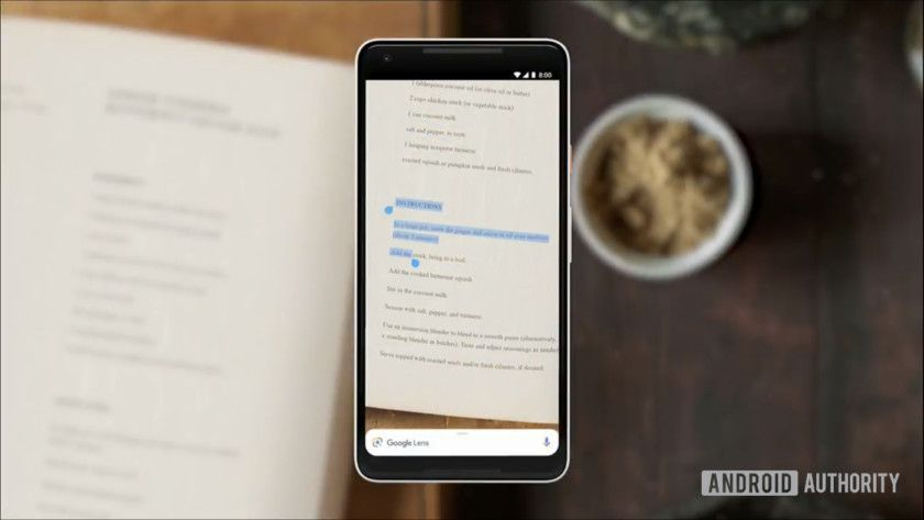 Google lens will let you copypaste text from the real