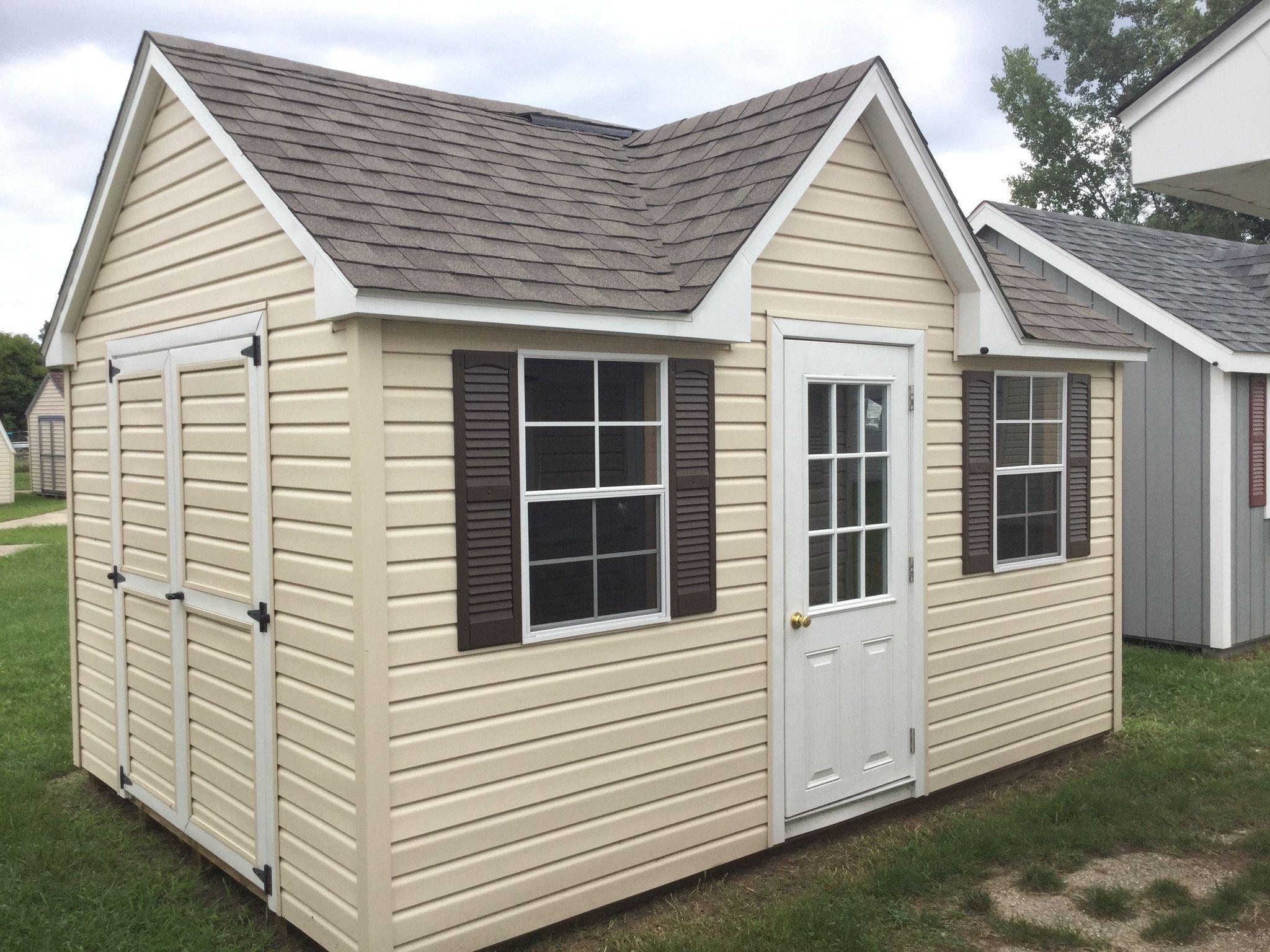 10x14 Vinyl Chalet 2 Chalet House Plans House