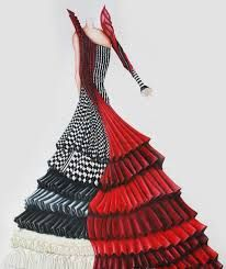 Image result for couture fashion sketching