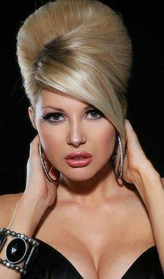 authentic beehive hairstyle - google
