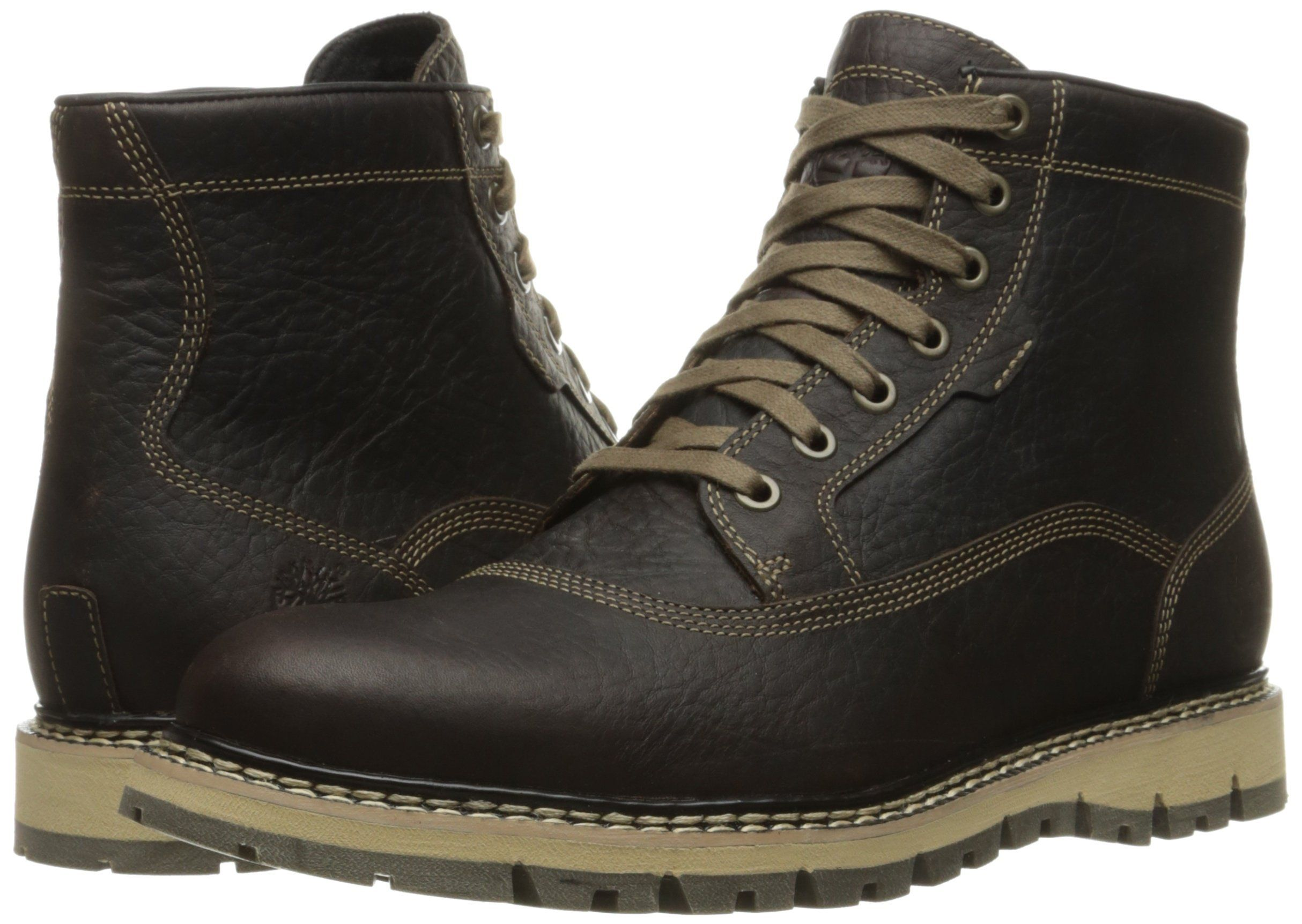 06dc9812f5be Timberland Mens Britton Hill Cap Toe Chukka WP Boot Dark Brown Full Grain  9.5 M US -- You can find more details by visiting the image link.