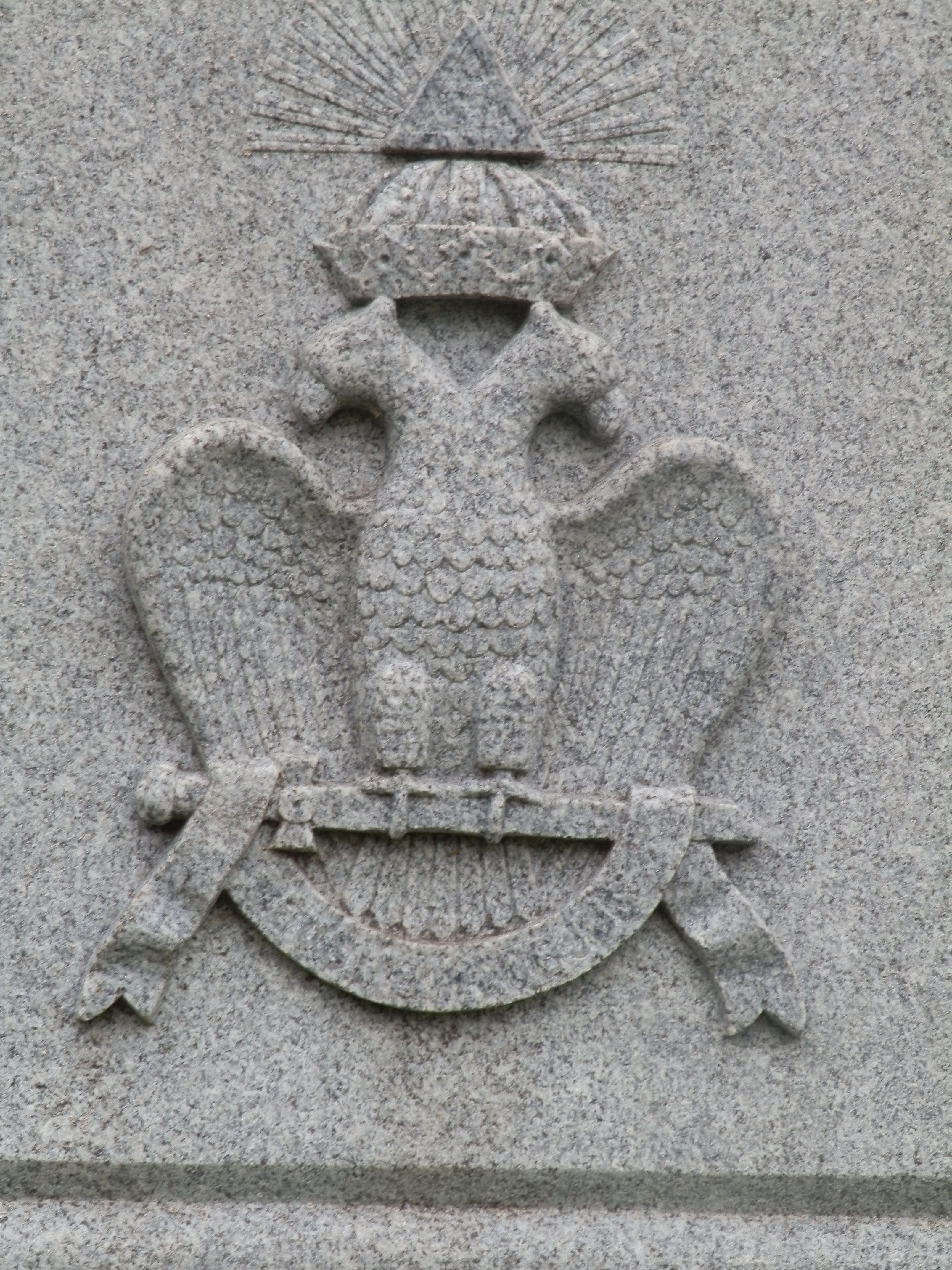 Double-headed eagle is a Masonic symbol, part of the 32nd