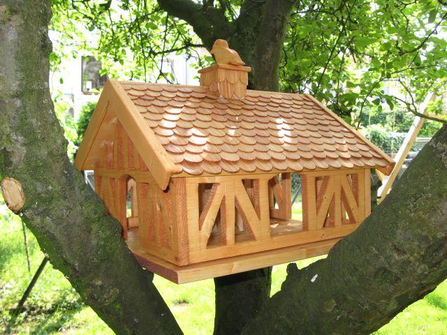 Nachbau Vogelfutterhaus Bauanleitung Zum Selber Bauen Bird House