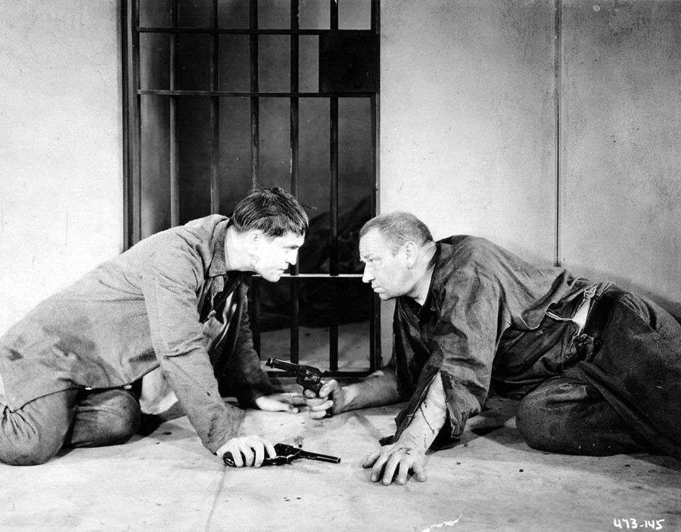Chester Morris and Wallace Beery, The Big House (1930) | Morris, Wallace  beery, Cool pictures