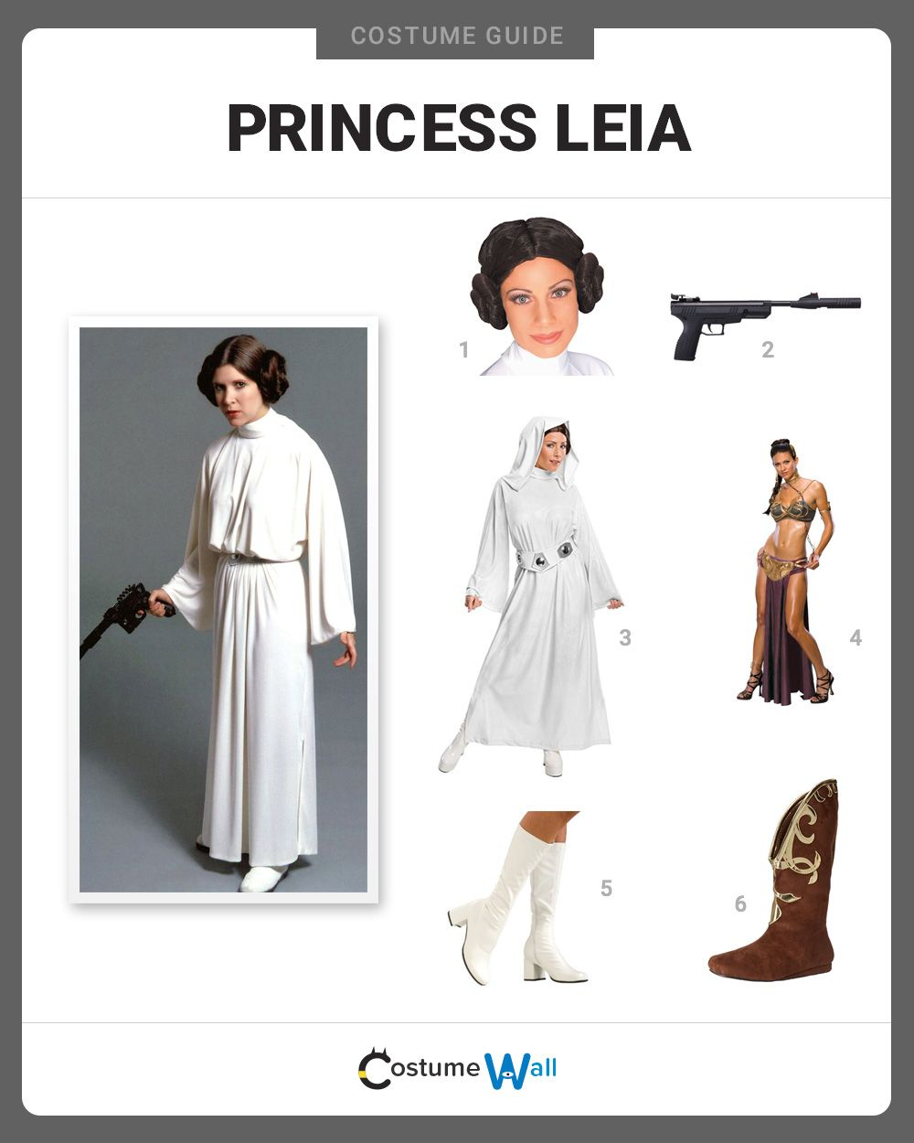 Dress Up As Princess Leia The Beloved Protagonist That We All Love From Star Wars Film Series