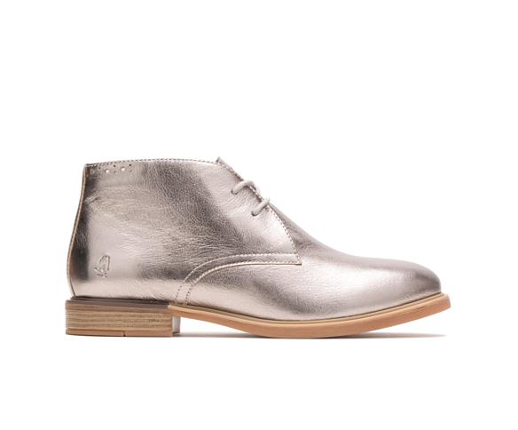 Bailey Chukka Boot Gunmetal Metallic Leather In 2020 Chukka Boots Boots Genuine Leather Boots