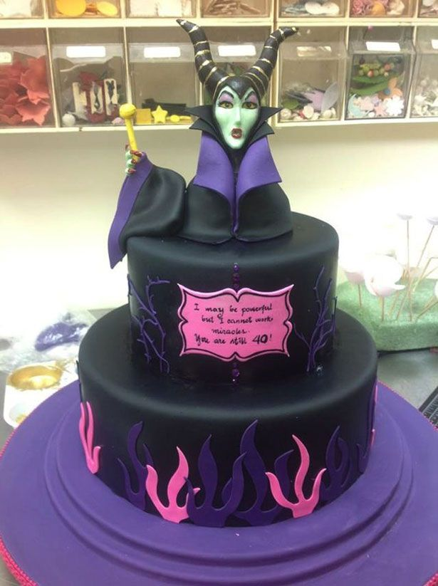 Meet the Angelina Jolie Maleficent cake Its terrifying