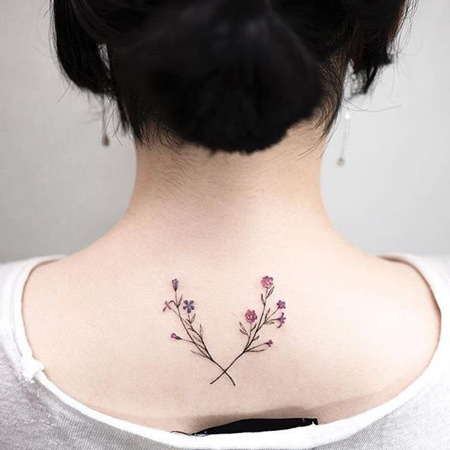 02566640e Beautiful tattoo by @ilwolhongdam #inkstylemag #tattoos #tattoosandfitness…