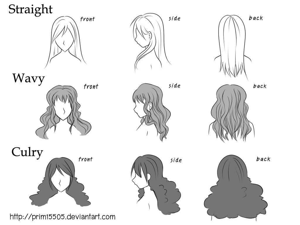 difference hair prim15505