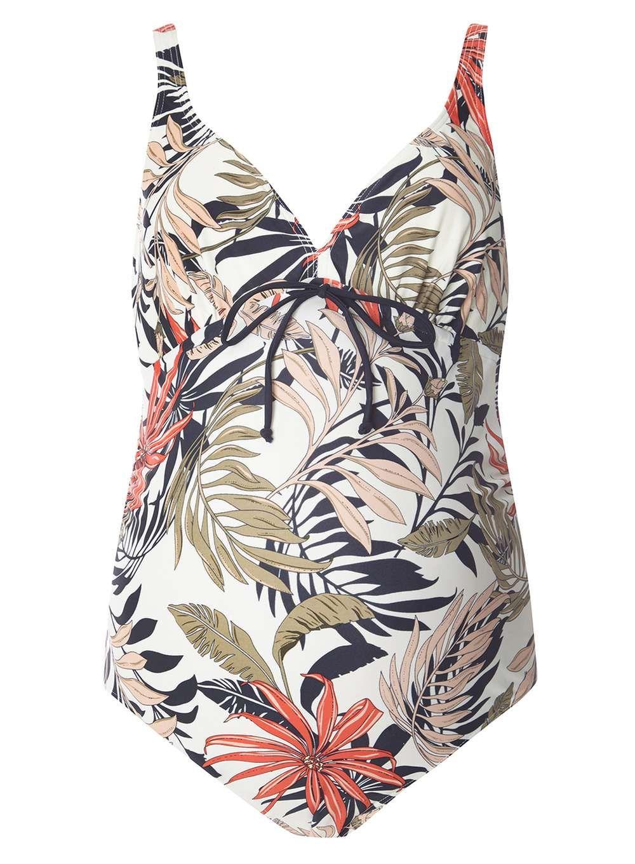 dab1e8f9b7d10 Mamalicious Palm Print Maternity Swimsuit #maternity #swimwear #summerstyle  #holiday