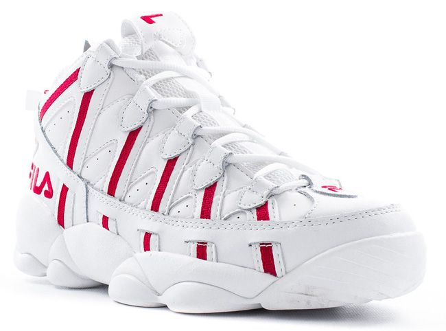 chaussure fila spaghetti high red