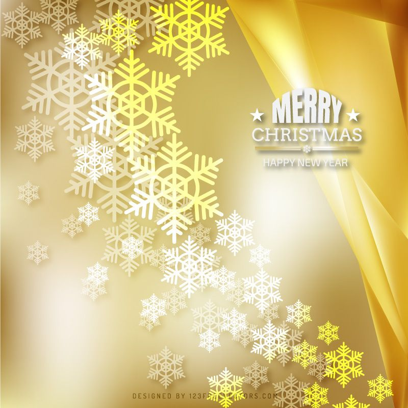 merry christmas and happy new year gold background free christmas backgrounds christmas background vector