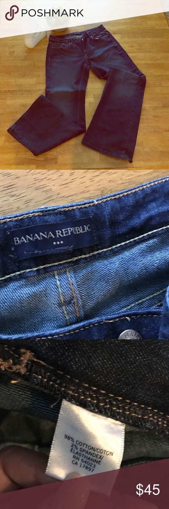 Selling this Banana republic factory wide leg Jean on Poshmark! My username is: aetcxy6. #shopmycloset #poshmark #fashion #shopping #style #forsale #Banana republic factory #Denim