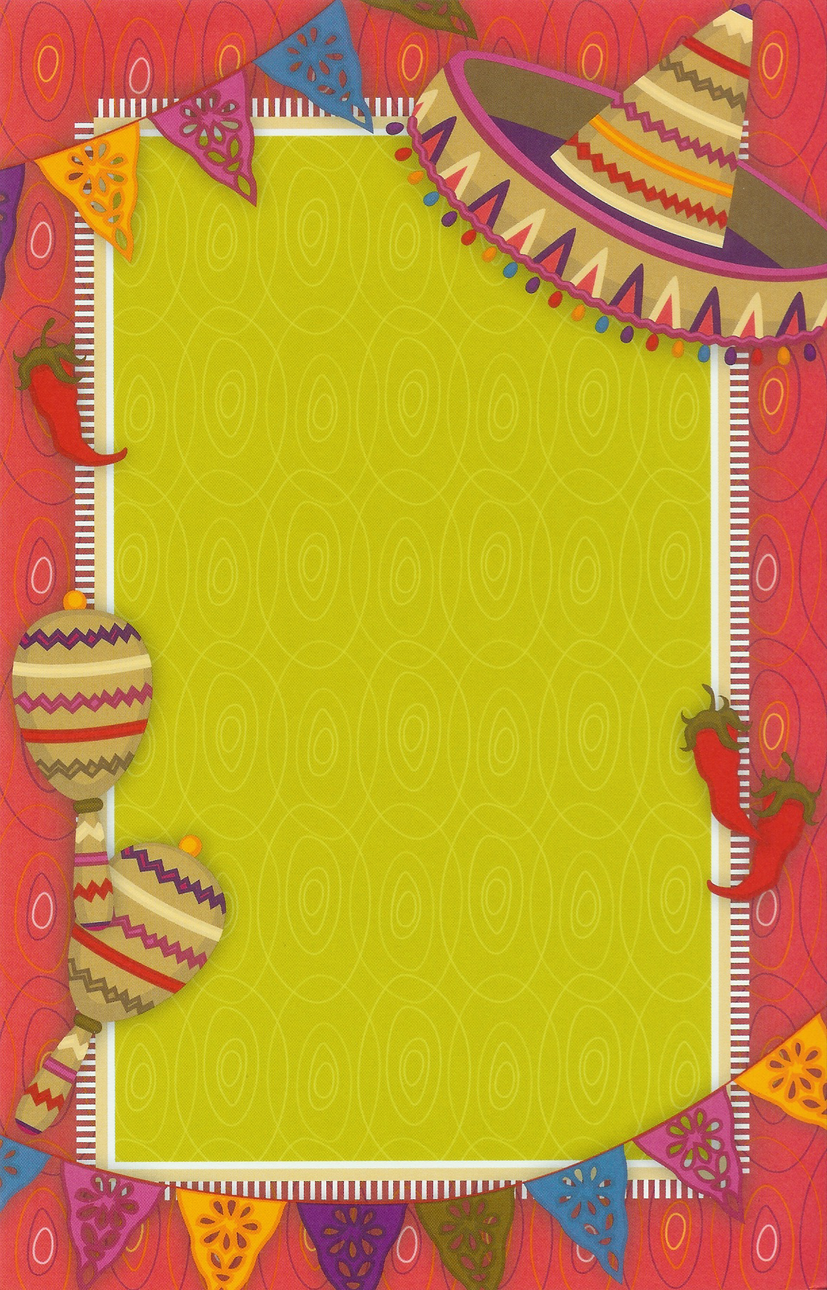 Hot Fiesta Invitation Cards and free printable fiesta party