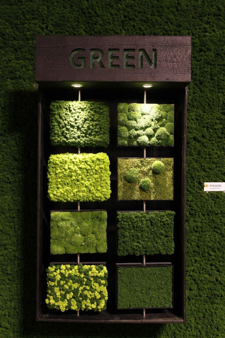natur deko design pflanzenbilder rindenartige platten und mehr desing interieur pinterest. Black Bedroom Furniture Sets. Home Design Ideas