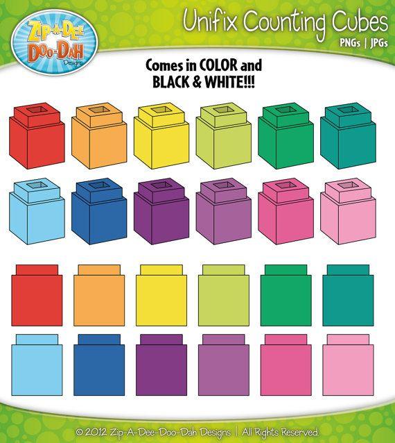 unifix counting cubes clipart over 25 by zipadeedoodahdesign make rh pinterest com Subtraction with Cubes Subtraction with Cubes