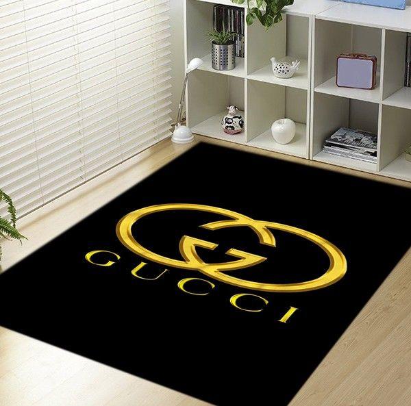 Inspired Gucci Logo Blanket