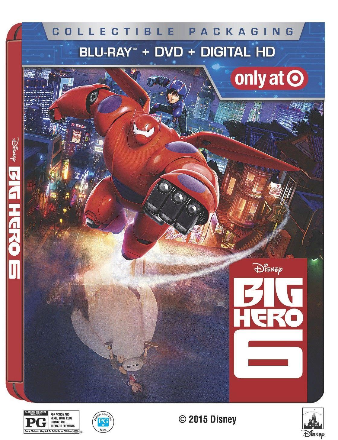 Target Monthly Box: Big Hero 6 (SteelBook) (Blu-ray DVD Digital)