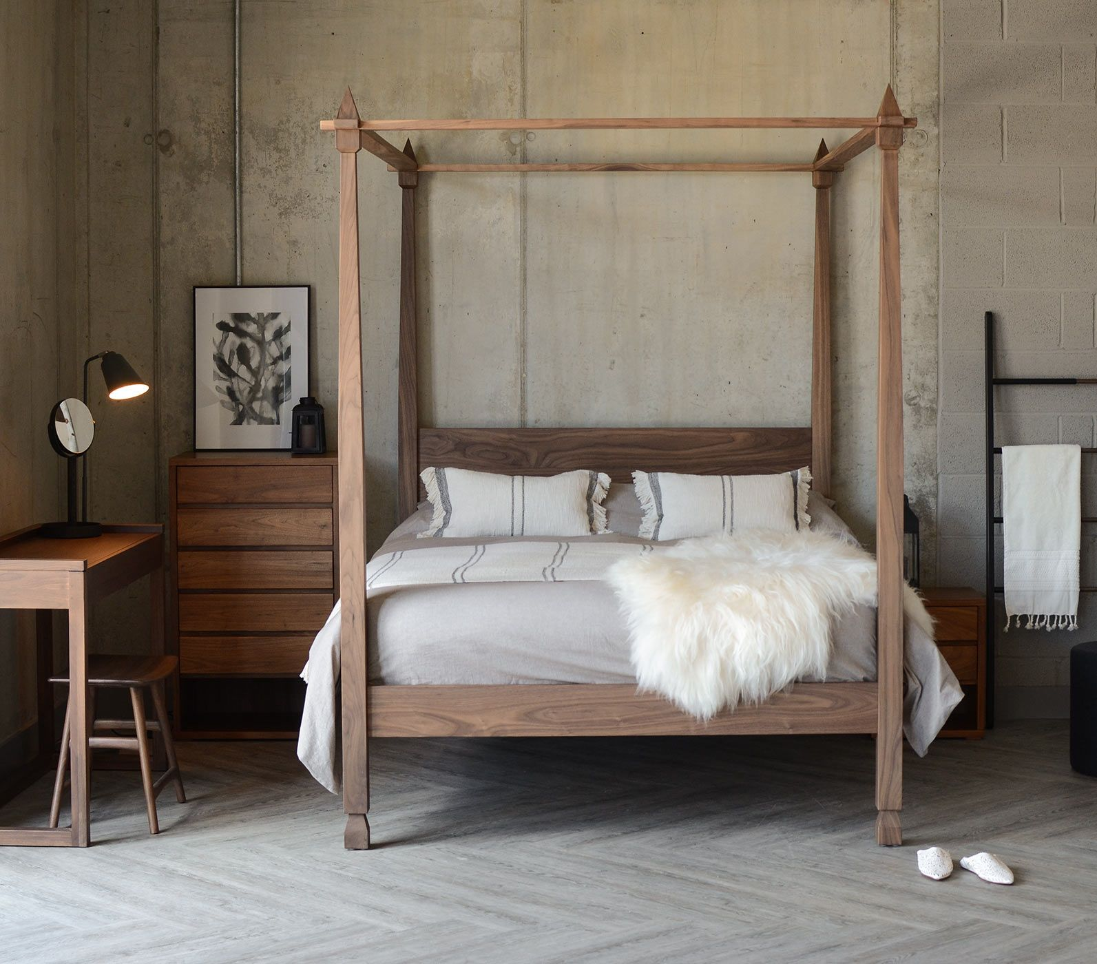 Four Poster Beds Hand Made Wooden Beds Natural Bed Company Four Poster Bed Four Poster Bed Frame Bed Frame