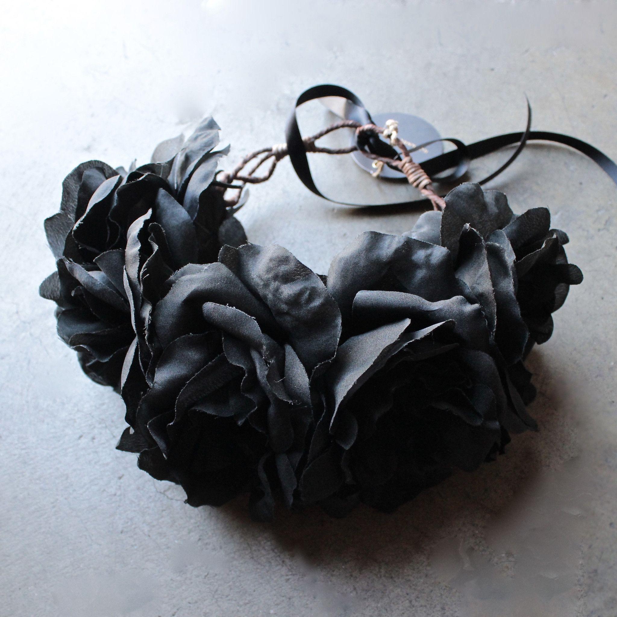 Rock n rose ophelia handmade flower crown black flower crowns rock n rose ophelia handmade flower crown black flower crowns crown and rock izmirmasajfo