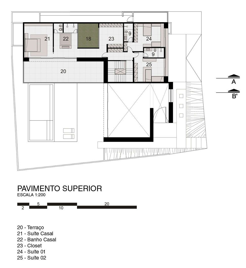 FF House by Studio Guilherme Torres | HOUSE PLANS | Pinterest ...
