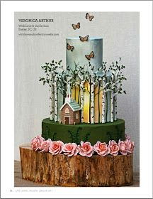 With Love & Confection: My Cake Central Magazine Cover Cake