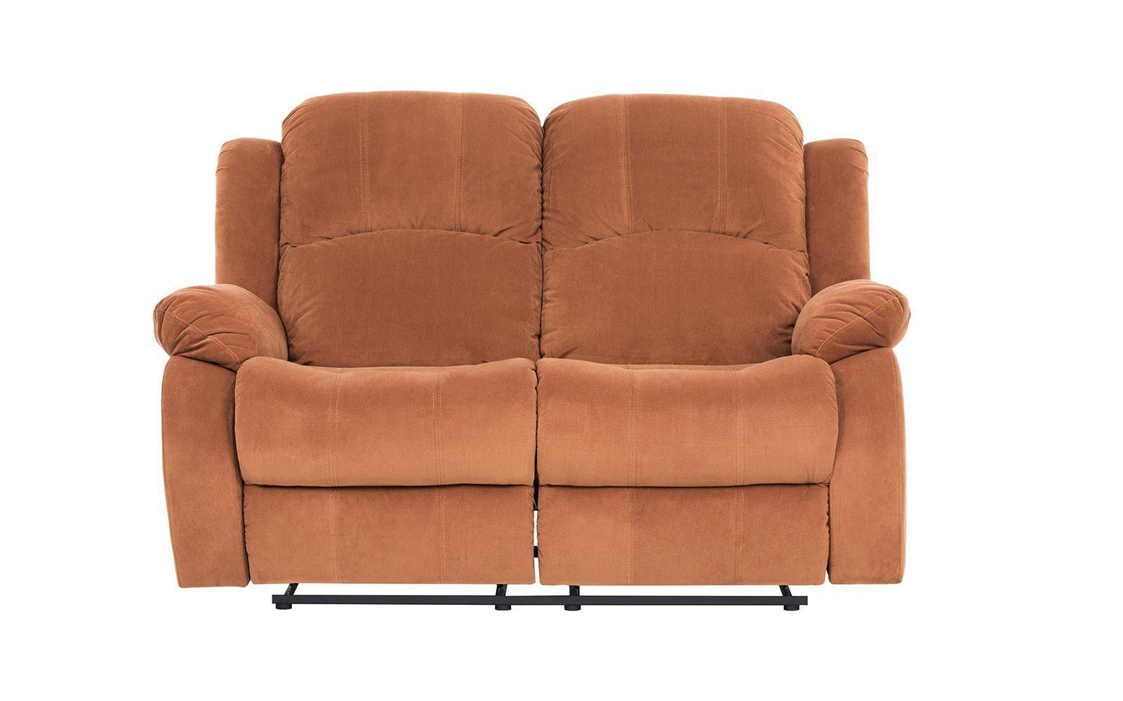 Excellent Traditional Brown Brush Microfiber Recliner Loveseat Unemploymentrelief Wooden Chair Designs For Living Room Unemploymentrelieforg